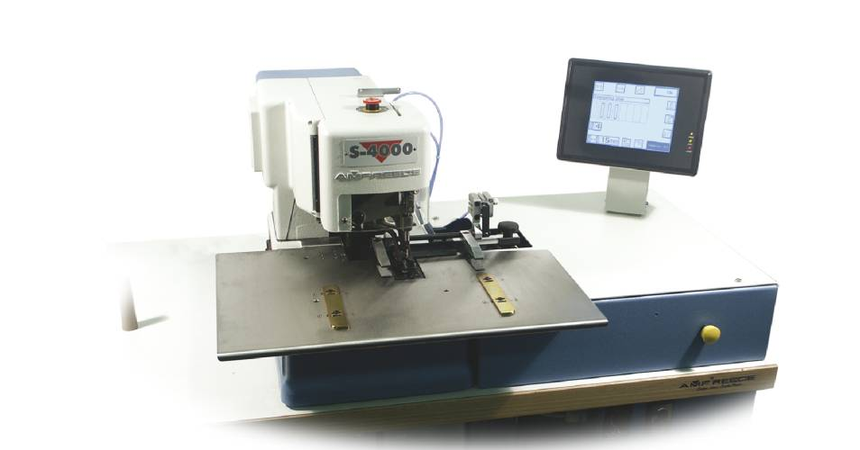 Chainstitch Imitation Sleeve Buttonhole Machine S-4000 ISBH Indexer