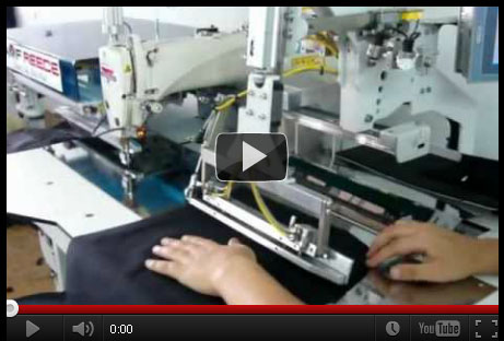 AMF Reece Sewing Unit for Folding and Attaching of Pocket Facings PF-2200